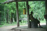 Монах перед колоколом / Таиланд