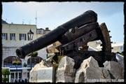 Пушечная каретка / Гибралтар (Брит.)
