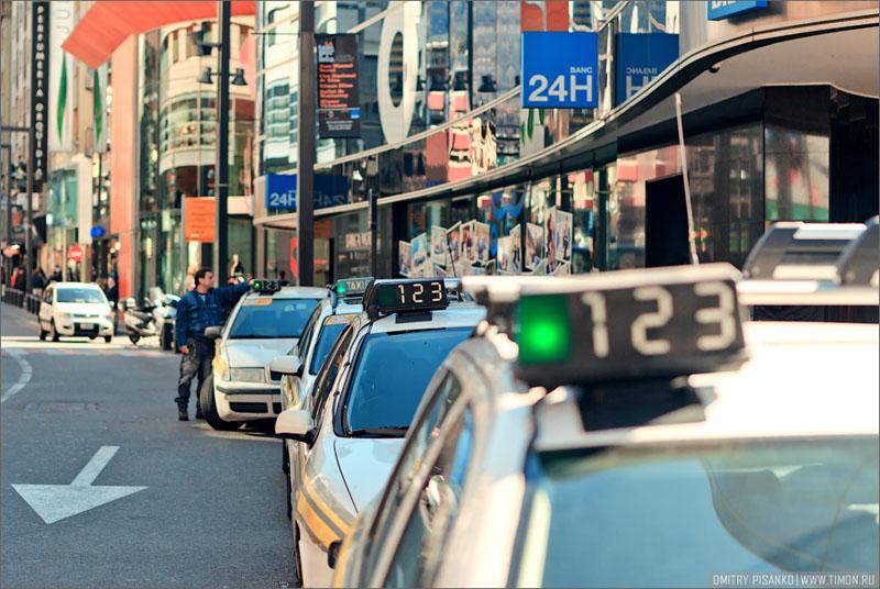 Такси в Андорра-ла-Велья / Фото из Андорры