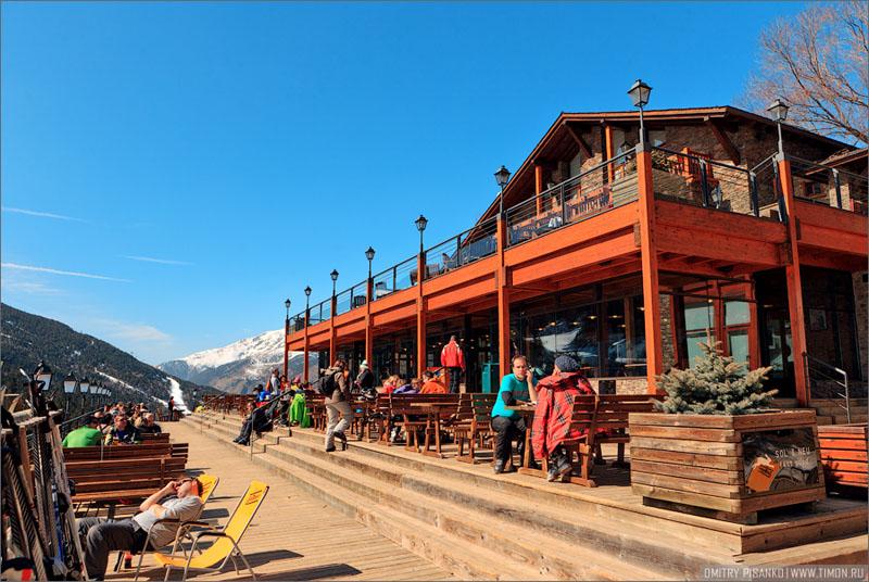 Кафе в Андорре / Фото из Андорры