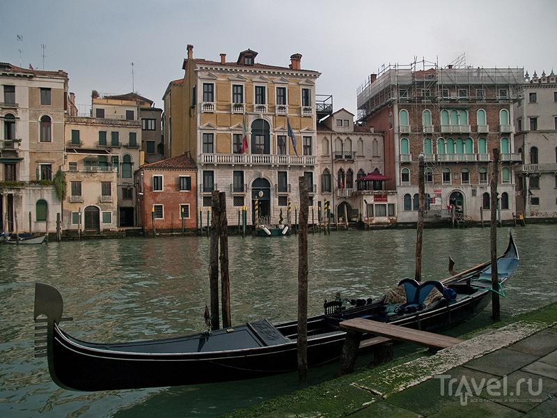 Гондола на Гранд-Канале / Фото из Италии