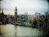 Капли на стекле / Великобритания