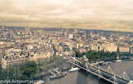 Справа от London Eye / Великобритания