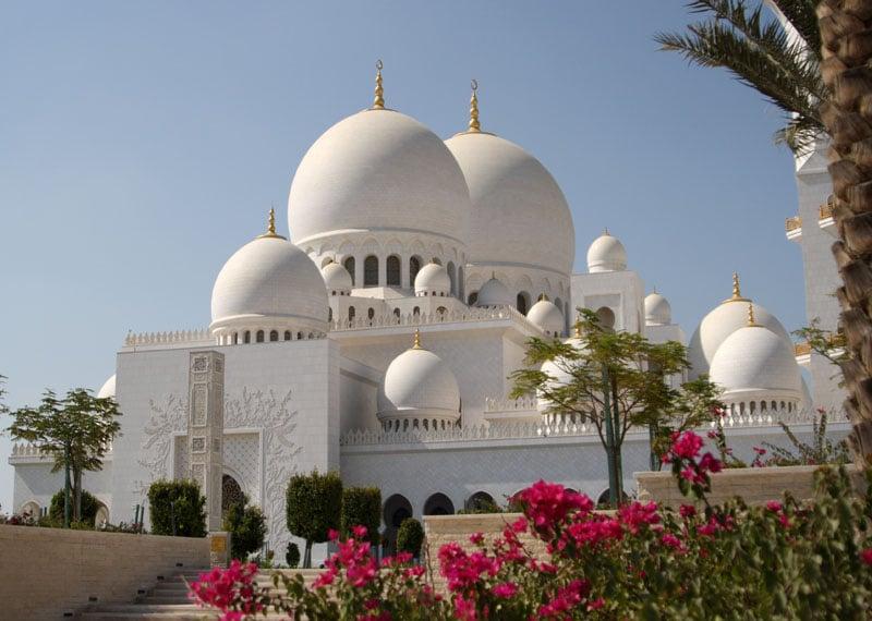 Мечеть шейха Зайеда в Абу-Даби / Фото из ОАЭ