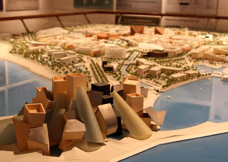 Проект филиала музея Гуггенхайма в Абу-Даби / Фото из ОАЭ