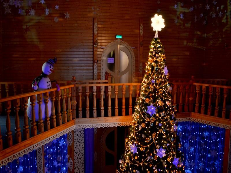 Второй этаж в доме Деда Мороза / Фото из России