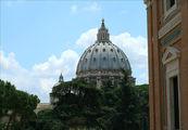 Вид на собор Св.Петра / Ватикан