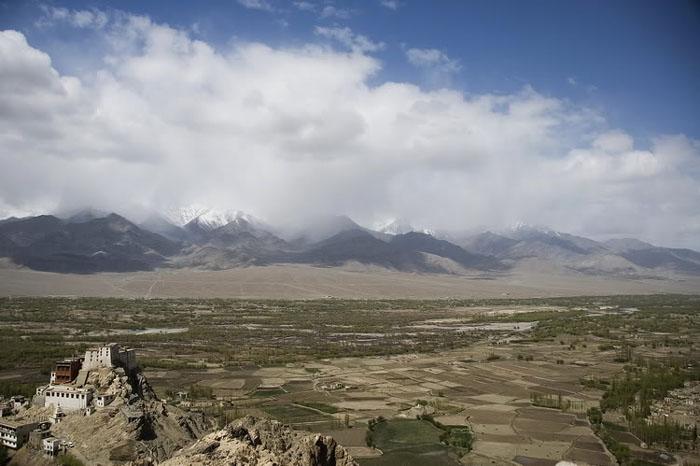 Горная долина в Индии / Фото из Индии