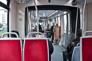 В салоне трамвая / Турция