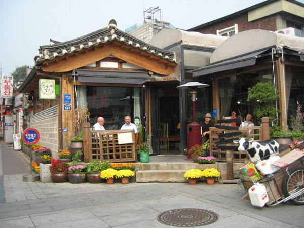 На исторических улочках Сеула / Фото из Южной Кореи