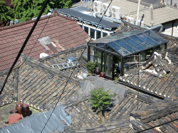 Крыши домов в Сеуле / Фото из Южной Кореи