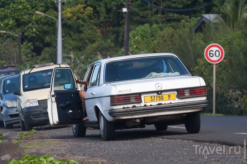 Сцена из жизни острова Таити / Фото из Французской Полинезии
