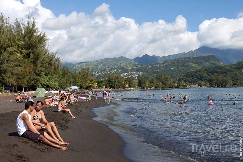 Бухта Матаваи-Бей, Таити / Фото из Французской Полинезии