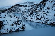Вода и скалы / Исландия
