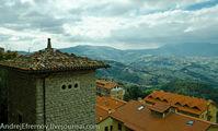 Крыши Сан-Марино / Сан-Марино