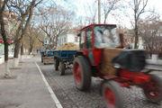 Гонки на тракторах / Украина