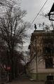 Человек на крыше / Украина