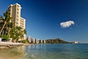 С пляжа Waikiki / США