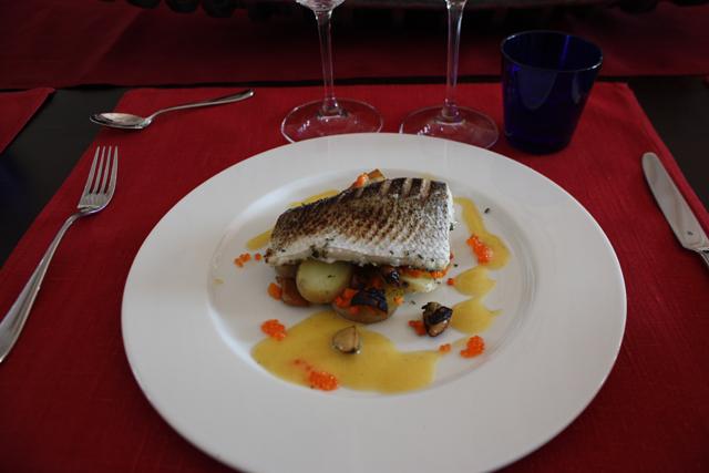 Рыбное блюдо в ресторане Tundra, Финляндия / Фото из Финляндии
