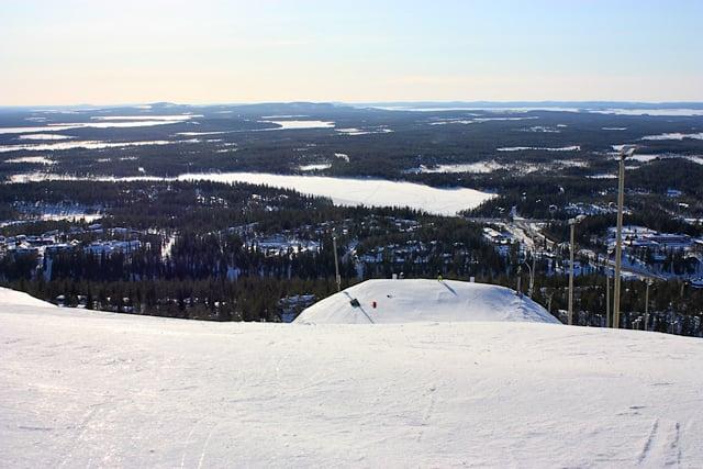 На горнолыжном курорте Рука, Финляндия / Фото из Финляндии
