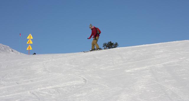 Первые шаги на горных лыжах в Финляндии / Фото из Финляндии