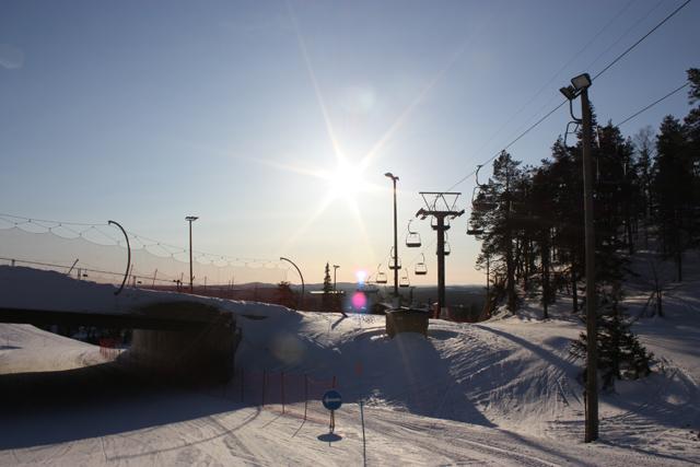 Трассы на курорте Рука, Финляндия / Фото из Финляндии