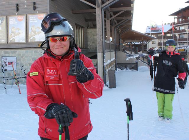 Як – инструктор горнолыжного курорта Рука, Финляндия / Фото из Финляндии