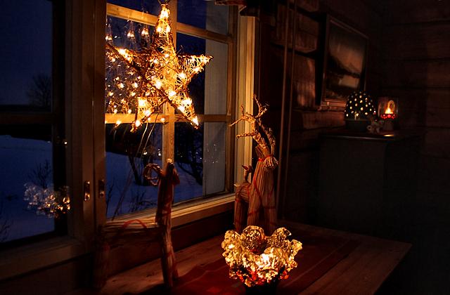 Интерьер одного из домов Йоулупукки в Финляндии / Фото из Финляндии