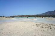 Пролив, отделяющий остров / Греция