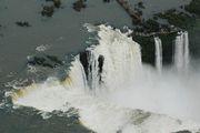 Вид на водопад / Аргентина
