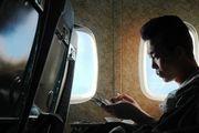 В салоне самолета / Корея - КНДР