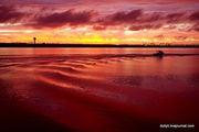 Вид с пляжа Brighton-Le-Sands / Австралия