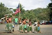 С деревянными ружьями / Вануату
