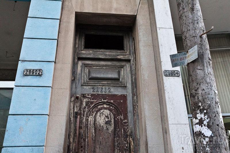 Нумерация домов в Матансасе, Куба / Фото с Кубы