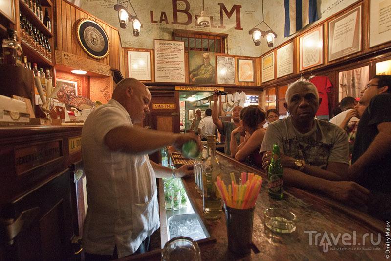 Бар La Bodeguita del Medio в Гаване, Куба / Фото с Кубы