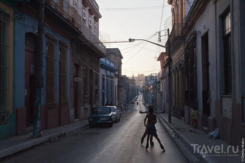 На улице Матансаса, Куба / Фото с Кубы