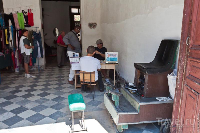 Торговля одеждой на Кубе / Фото с Кубы