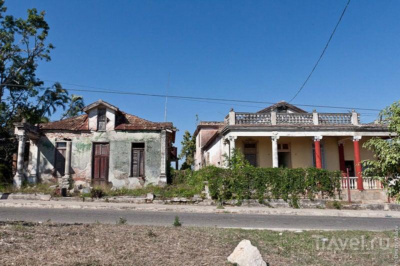 Пустые дома в Сан-Мигель-де-лос-Баньос, Куба / Фото с Кубы