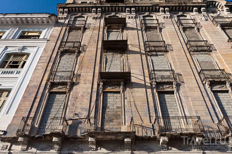 Старые кварталы Сьенфуэгоса, Куба / Фото с Кубы