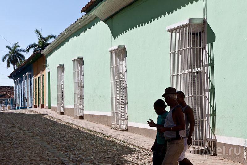 Центральная часть Тринидада, Куба / Фото с Кубы