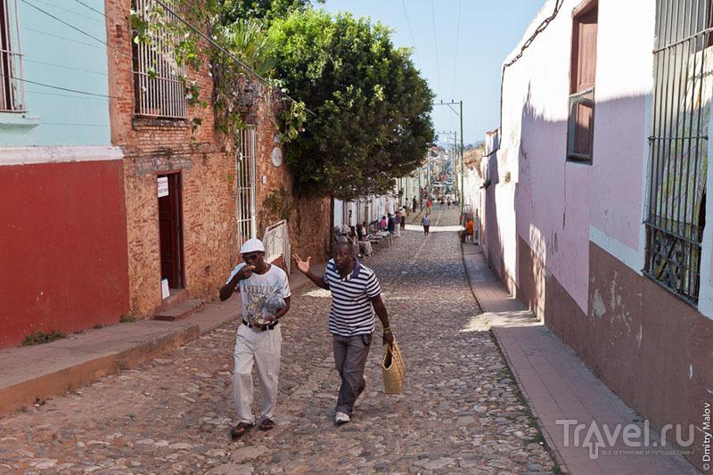 Жители Тринидада / Фото с Кубы