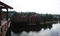 Домики разного цвета / Норвегия