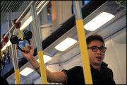 В вагоне метро / Гонконг - Сянган (КНР)