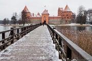 """Вход в """"Островной"""" замок / Литва"""