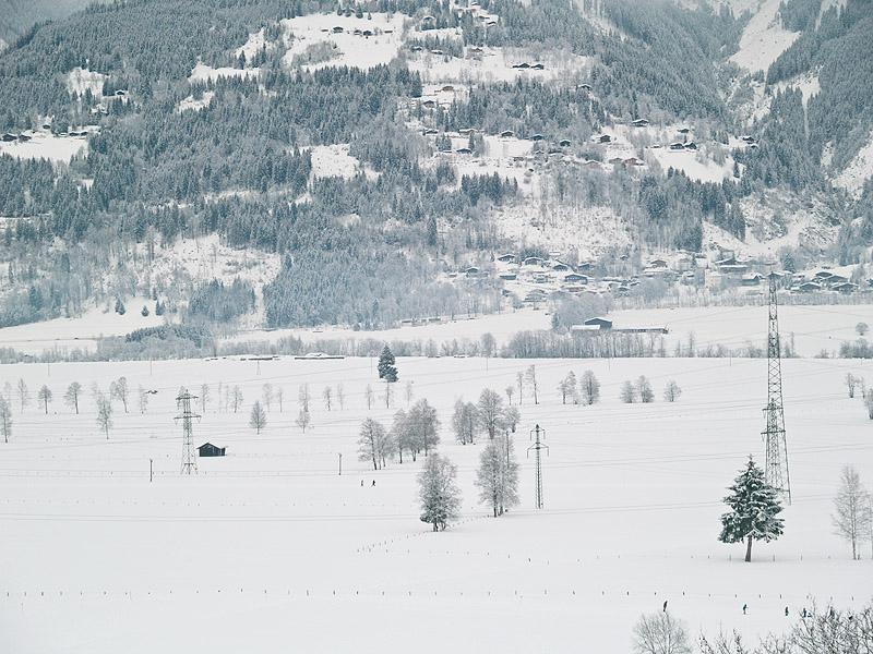 Поле для прогулок и беговых лыж, Капрун / Фото из Австрии