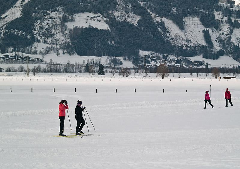 Дорожка для беговых лыж, Капрун / Фото из Австрии