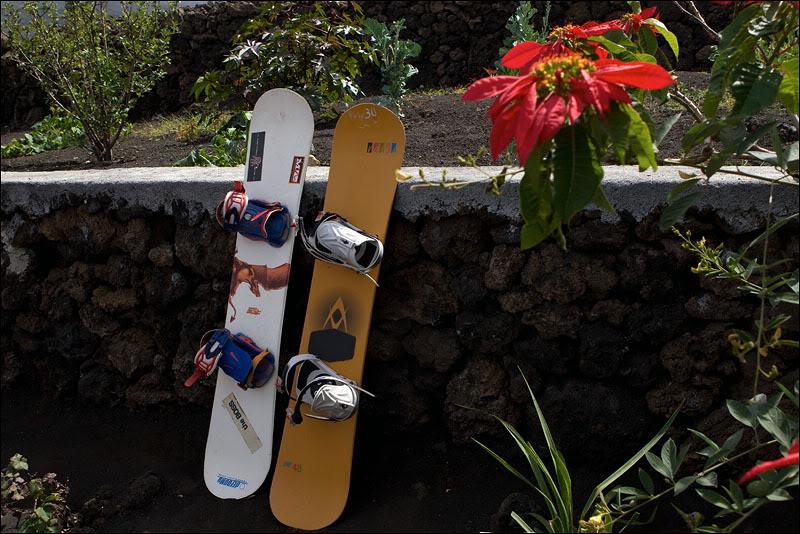 Сноуборды на Кабо-Верде / Фото из Кабо-Верде