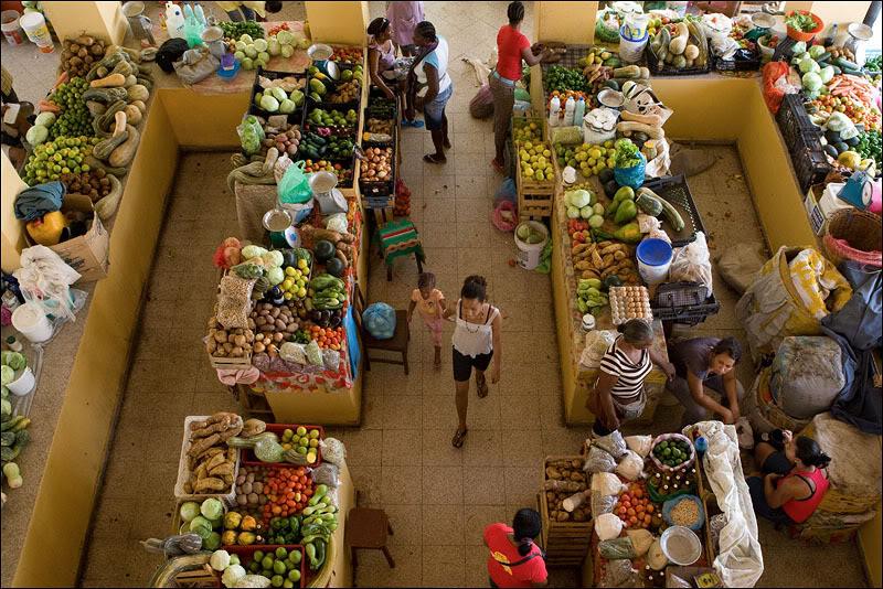 Центральный рынок Сан-Филипи, Кабо-Верде  / Фото из Кабо-Верде