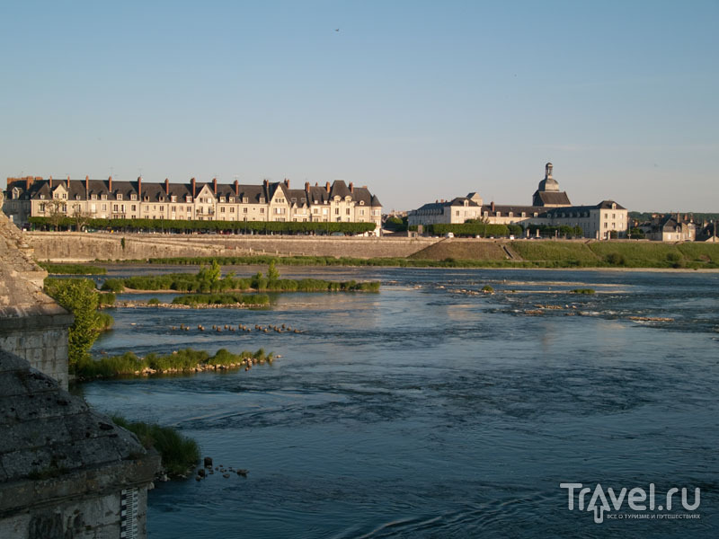 Отмели на Луаре / Фото из Франции