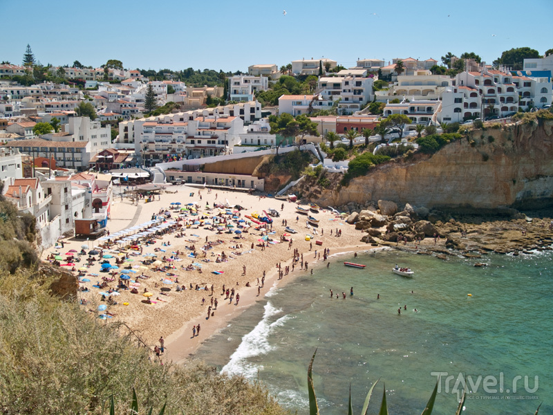 Городской пляж в Карвуэйру / Фото из Португалии